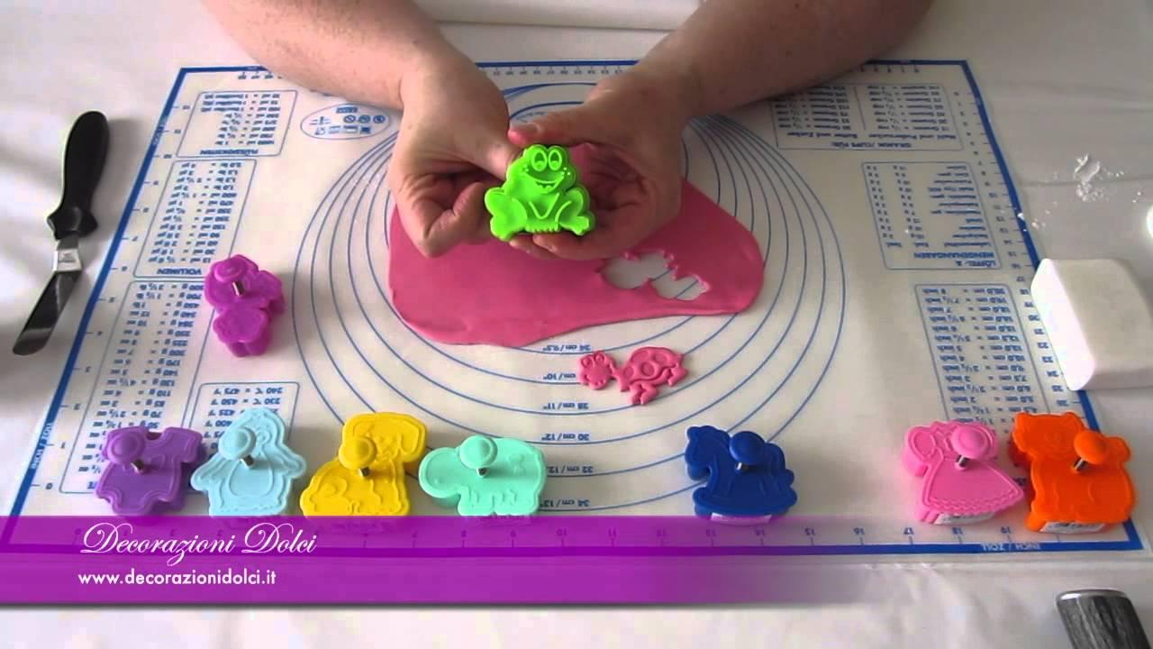 decorazioni di dolci con stampi ad espulsione animali e baby per ... - Decorazioni Con Biscotti