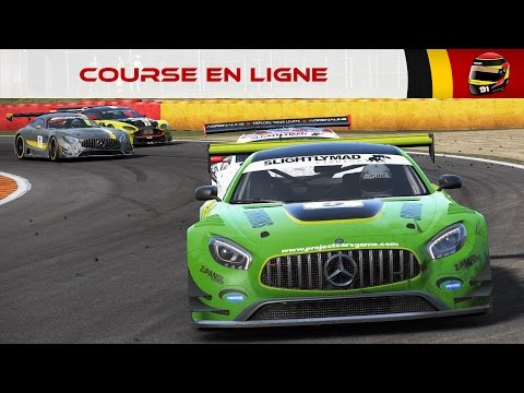 Course en Ligne #36: Le cancer du Sim Racing (Spa - GT3) [FR ᴴᴰ]