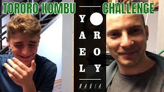 Israeli Teens try Japanese TORORO KOMBU **CHALLENGE**   Yael & Roy's Mania