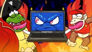 A PIOR BATALHA FINAL! (Parte 01) - DONKEY KONG ON FIRE #16