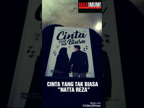 Cinta yang tak biasa - Natta reza ( lyric video )