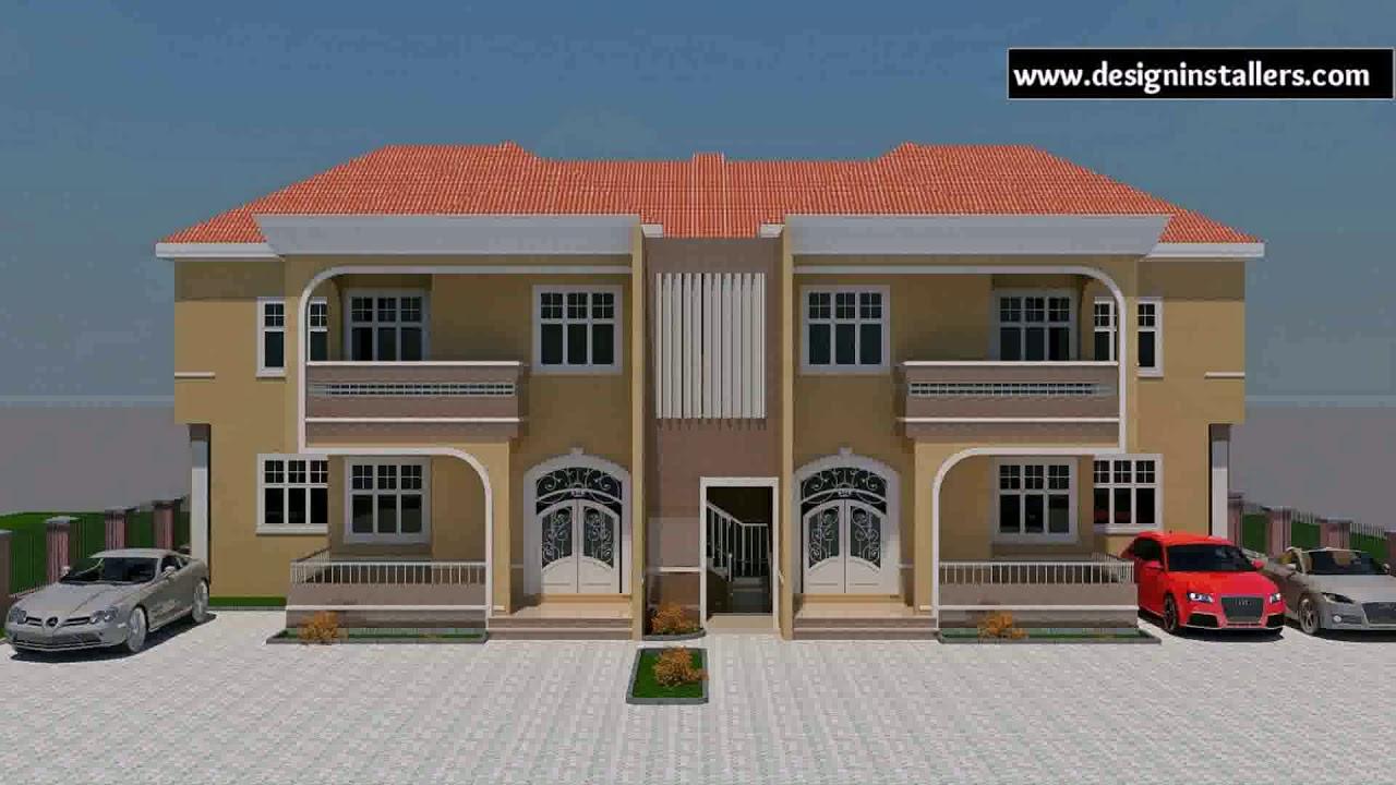 Building Plan For 4 Bedroom Flat In Nigeria Gif Maker Daddygif Com See Description Youtube