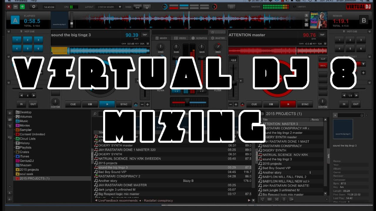 Virtual Dj 8 Drum Machine : virtual dj 8 drum and bass mixing without beatsync youtube ~ Russianpoet.info Haus und Dekorationen