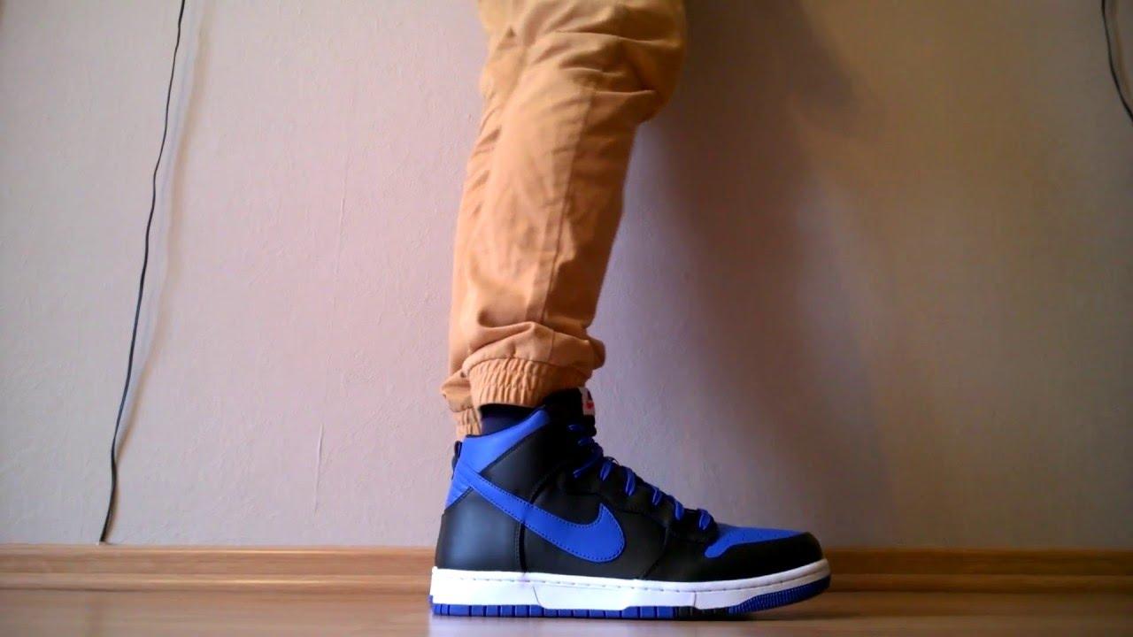 6e4d472e3f5a Buty  shoes Nike Dunk CMFT 705434-400 na nogach - YouTube