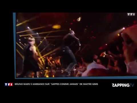 Bruno Mars s'ambiance sur...