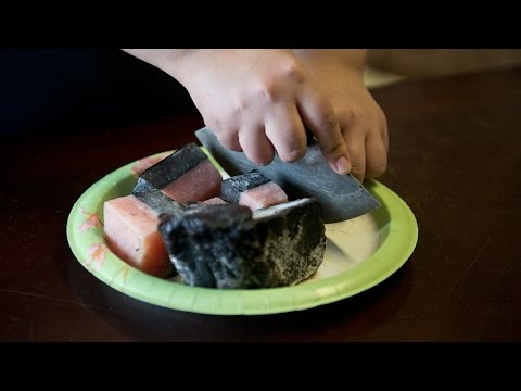 Inupiaq food: A Barrow family describes how whale is prepared