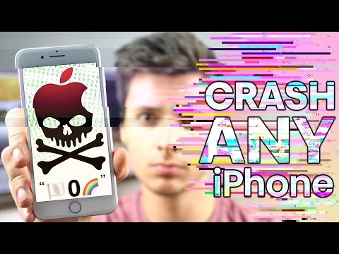 This Text Will CRASH ANY iPhone! ?️0?