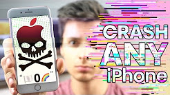 This Text Will CRASH ANY iPhone! 🏳️0🌈