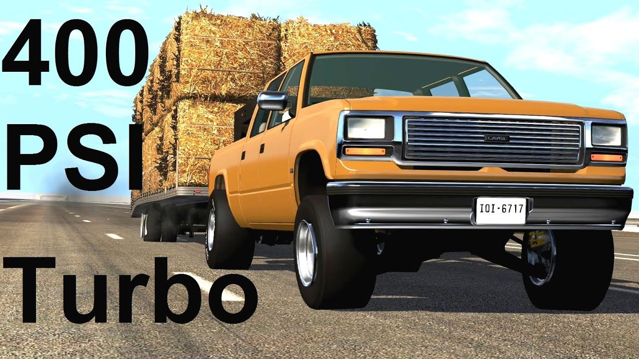 The 200 MPH Heavy Haul Challenge! BeamNG. Drive