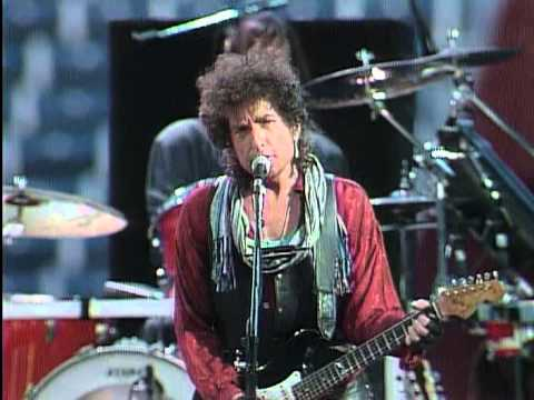 Bob Dylan  Across The Borderline  at Farm Aid 1986