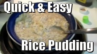 Dessert For Breakfast [healthy, Quick & Easy Rice Pudding Recipe]