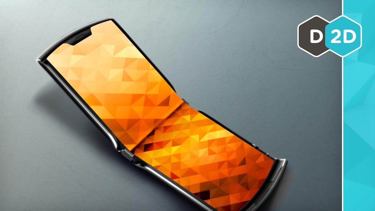 The NEW Folding Flip Phone
