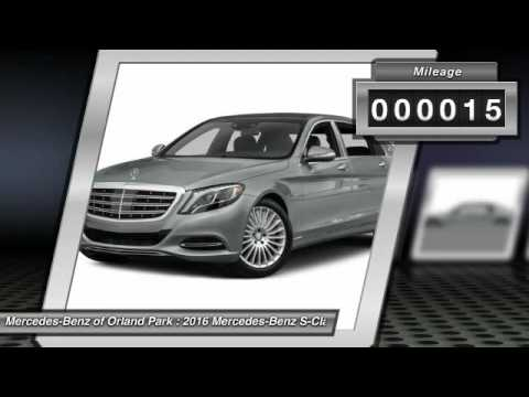 2016 Mercedes Benz S Class Orland Park IL MW8437