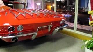 1965 Chevy Corvette Test Run, Auto Appraise, Inc http://www.autoappraise.com, 810-694-2008