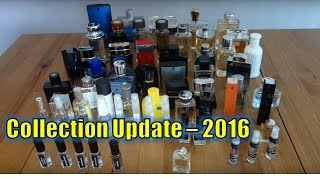 Fragrance Collection Update 2016