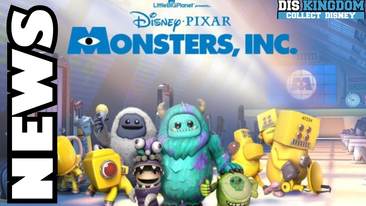 Monsters Inc Costume Pack Out Now For LittleBigPlanet 3