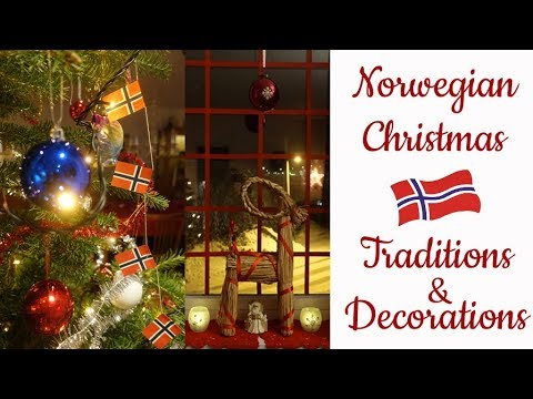 Norwegian Christmas.Norwegian Christmas Traditions Decorations