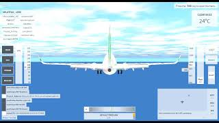 Butter Landing in VFS with B737-800 Transavia! [ROBLOX]