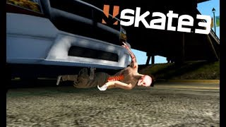 Skate 3 - Eaten By A Car [Playstation 3 Gameplay]