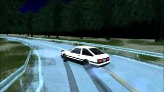 Gta Sa AE86 Trueno Rokko Sunrise Driveway Clockwise Drifting