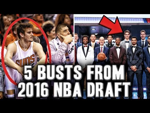 5 Players From 2016 NBA DRAFT That Look Like BUSTS | Is Dragan Bender The Bust Of The Draft?