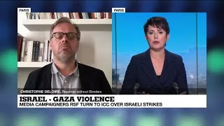 Media campaigners RSF turn to ICC over Israeli strikes