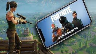 Fortnite Mobile Trailer - Epic games Mitando