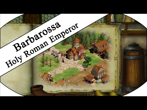 HOLY ROMAN EMPEROR Pt.1/2 - Let's Play Age of Empires II HD - Barbarossa Campaign!
