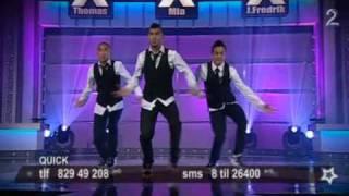 Quick Style på Norske Talenter i 2009