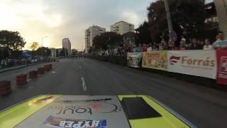 Kálmánczi Balázs-Schmidt Balázs  Lada2105 Forrás Rallye sprint Komló prológ