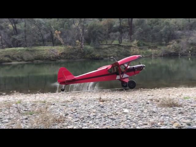 Bush planes in action