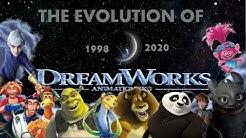 The Evolution Of Dreamworks Animation (1998 - 2020)