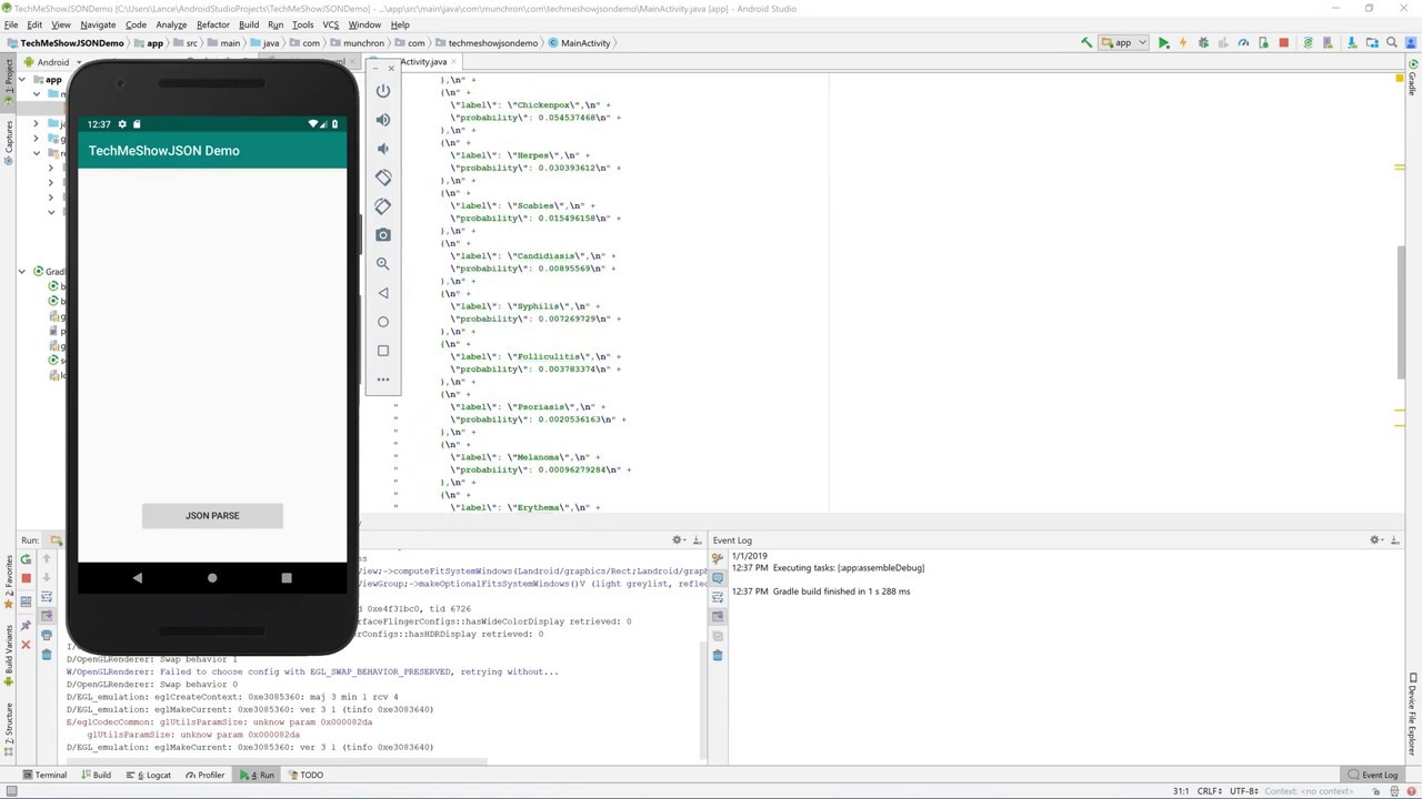 How to use a Multidimensional JSON Array in Android Studio (Nested Arrays)