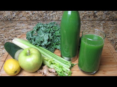 Simple Green Juice Recipe || Detoxing and Cell Rejuvenating Green Juice