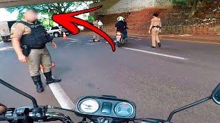 POLICIA ME PAROU DE TODAY 👮 ( ME DEI MAL ?! )