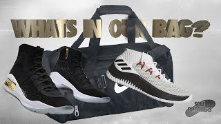 What's In Our Bag?! Our Go To Basketball Shoes!