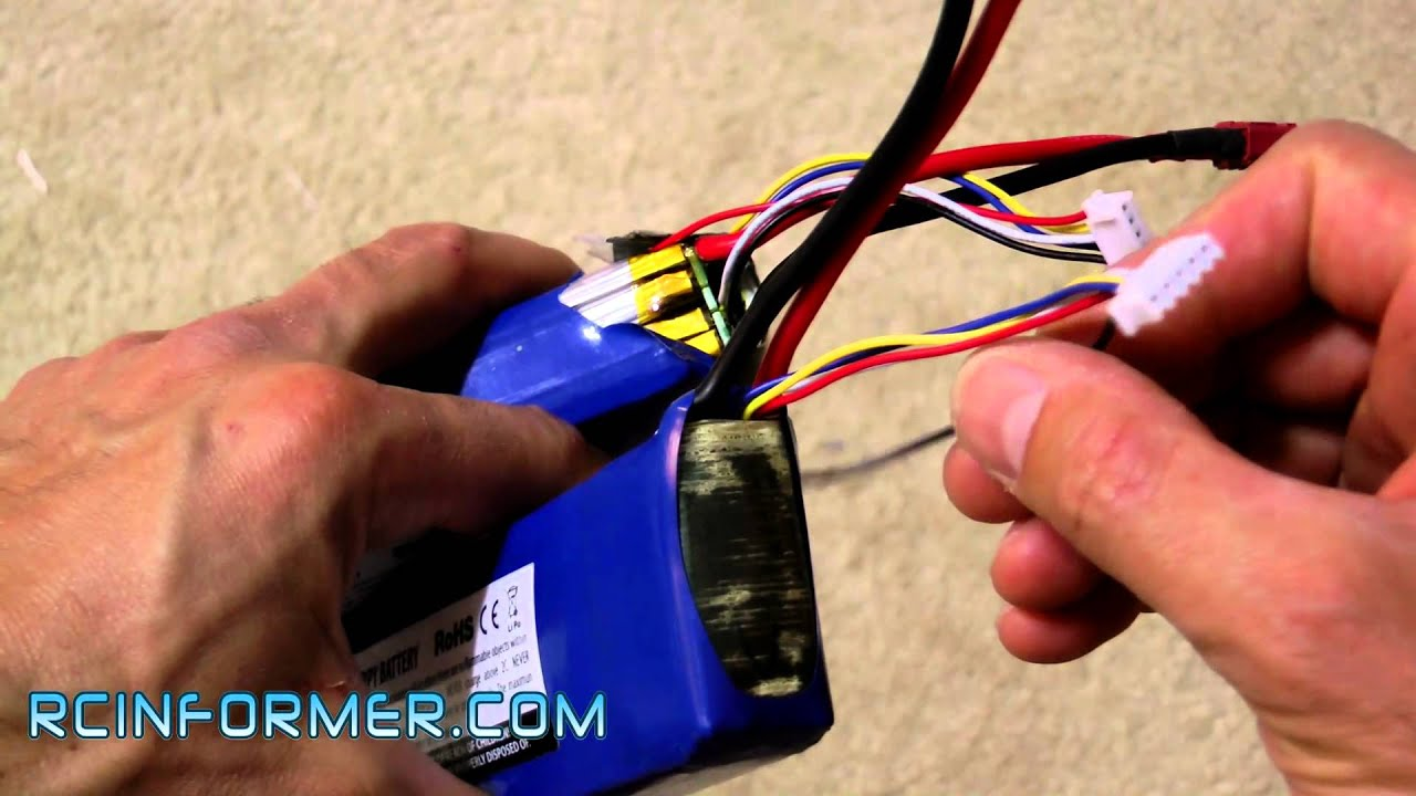 maxresdefault lipo battery balance lead repair by rcinformer com youtube