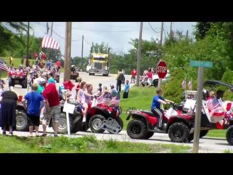 Gruetli-Laager, Tn 4th Of July Parade July 4, 2017