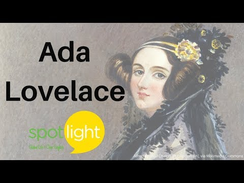 """Ada Lovelace"" - practice English with Spotlight"