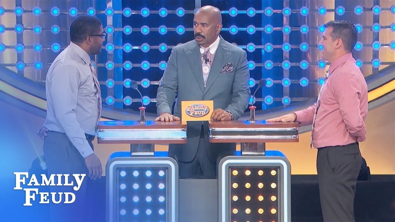 Jonathan's EMBARRASSED... | Family Feud - YouTube