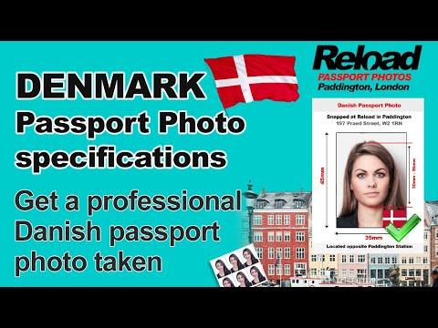Get Your Danish Passport Photo And Visa Photo Snapped In Paddington, London