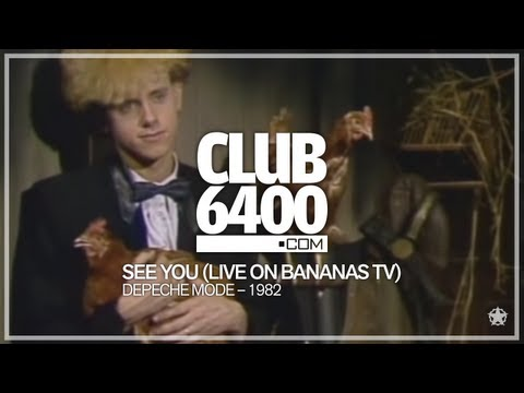 Depeche Mode - See You (Live on Bananas TV 1982) - CLUB 6400 - 80s Music