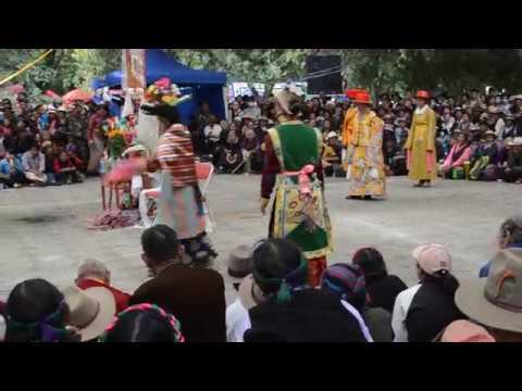 "Tibet Opera ""Ache Lhamo""Norublingkaチベットオペラ2014年8月"