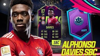 FUTURE STARS ALPHONSO DAVIES 87 ! ! ! (SBC) + 100k SET  FIFA 19 ULTIMATE TEAM RTG#82