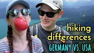 Hiking Differences: GERMANY VS. USA