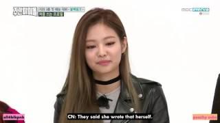 [ENG SUB] Blackpink Jennie Cute Aegyo on Weekly Idol!!