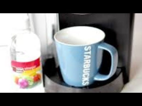 How to clean and unclog your coffee maker with vinegar