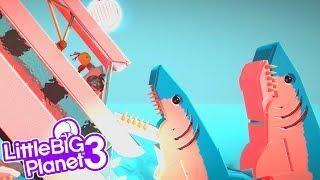 SHARKNADO   LittleBIGPlanet 3 Gameplay (Playstation 4)