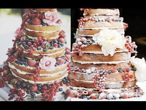 Как украсить торт своими руками? Naked cake. Вытворяшки ...