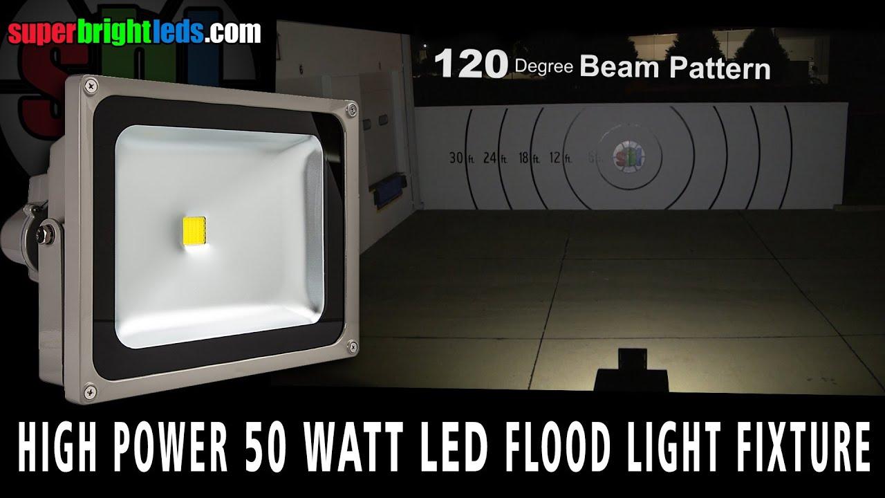 maxresdefault 50 watt led flood light fixture youtube  at mifinder.co